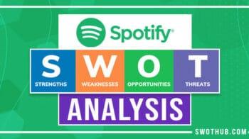 spotify swot analysis