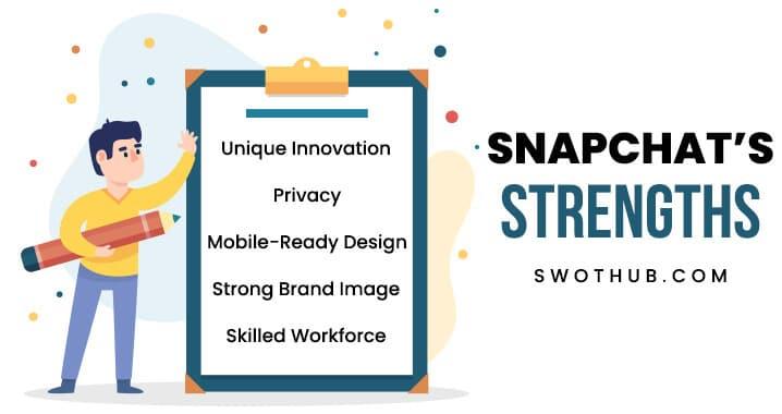 strengths of snapchat