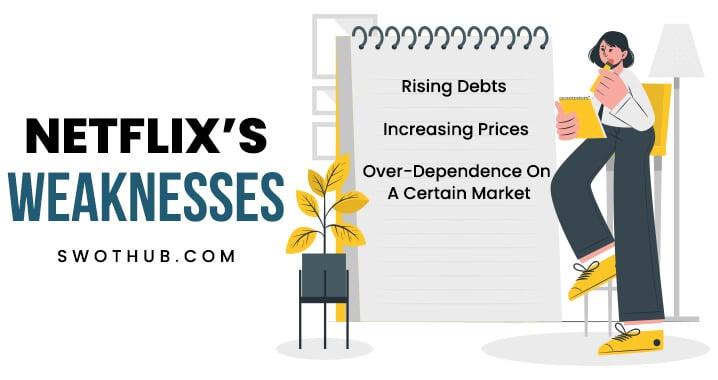weaknesses of netflix